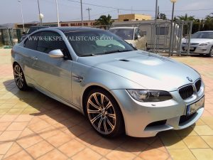 UK Specialist cars in Spain have a LHD new model BMW M3 4.0 V8 LEFT HAND DRIVE