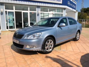 LHD SKODA OCTAVIA - 1.6 TDI DIESEL - LOW KMS - LHD IN SPAIN