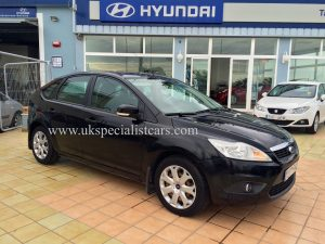 UK Specialist Cars have a very nice LHD new shape Ford Focus for sale in costa blanca spain