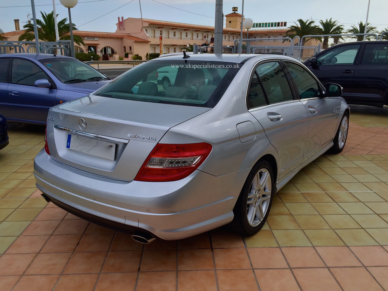26a03a4cc1 UK Specialist Cars have a left hand drive Mercedes C class automatic in  Spain - Costa