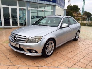 UK Specialist Cars have a left hand drive Mercedes C class automatic in Spain - Costa Blanca