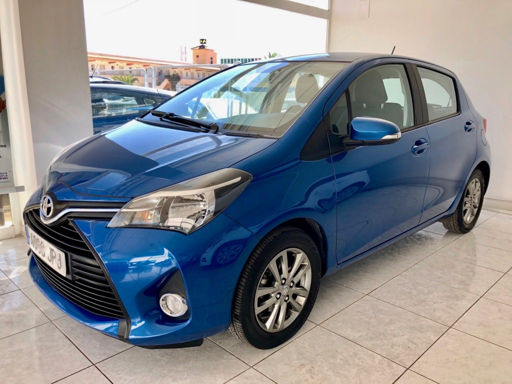 Lhd Toyota Yaris Active 1 0 Low Kms Lhd In Spain