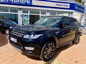 LHD RANGE ROVER SPORT 3.0 SDV6 - HSE AUTOBIOGRAPHY - LHD IN SPAIN