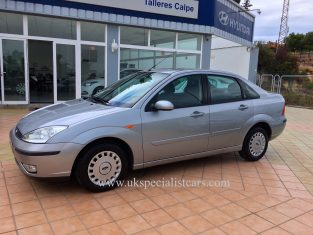 UK Specialist Cars have a Ford Focus 1.6 Ghia Saloon - AUTOMATIC - LHD In Spain