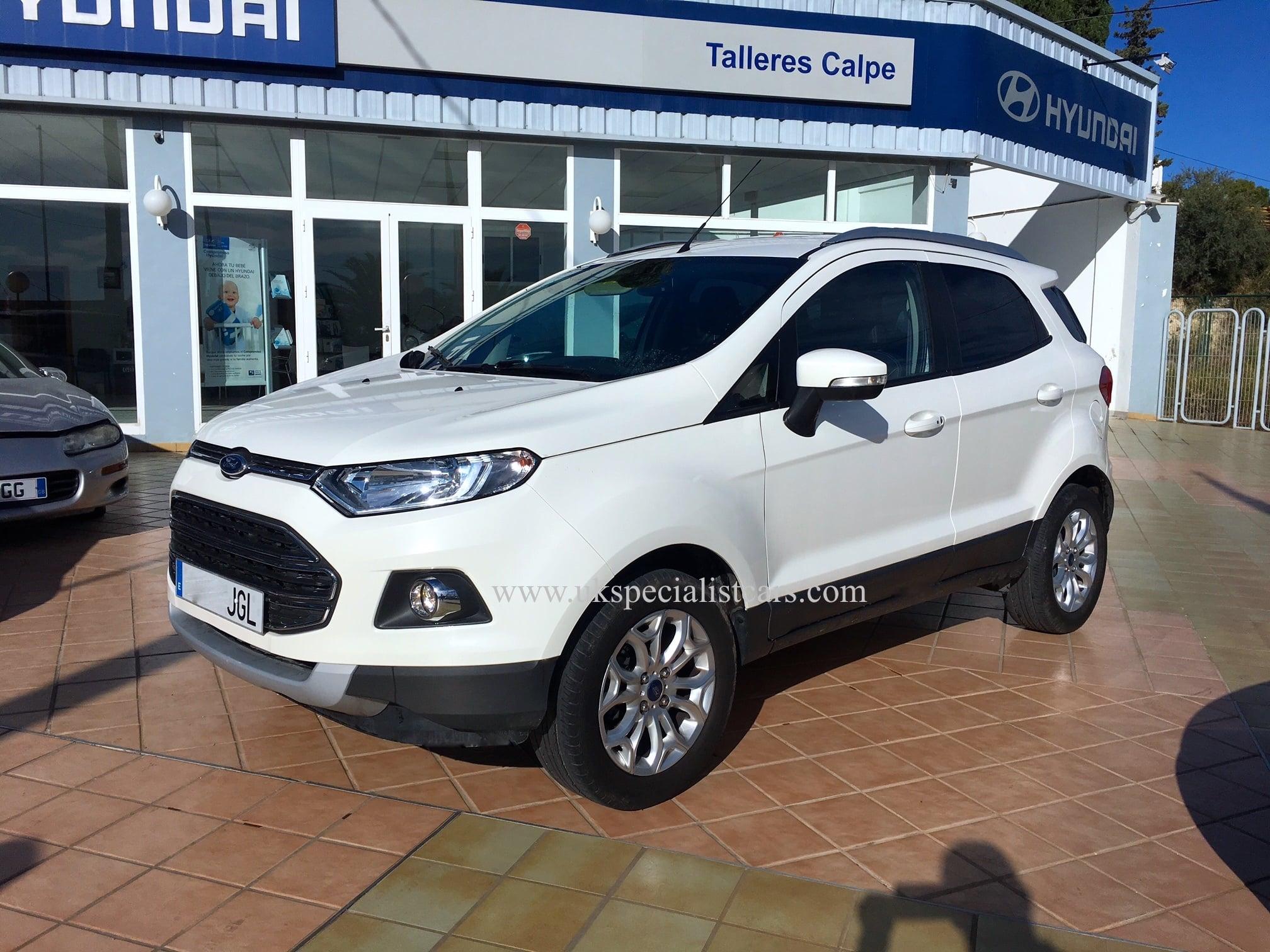 Dodge Dealer Tucson >> FORD ECOSPORT TITANIUM - DIESEL – LHD In Spain