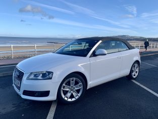 AUDI A3 CABRIO 2.0 TDI AUTOMATIC - LHD IN SPAIN