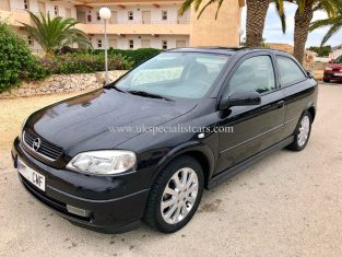 LHD Opel Astra 1.6 Coupe Elegance – LHD In Spain LOW KMS
