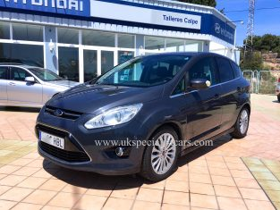 UK Specialist Cars have a left hand drive Ford C-Max TDCI - Diesel - LHD In Spain