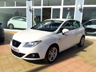 Left hand drive Seat Ibiza tdi in spain LHD