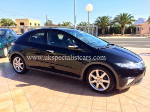 For sale at UK Specialist cars Honda Civic 1.8 executive AUTOMATIC - Left hand drive LHD