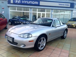 UK Specialist Cars have a Mazda MX5 Convertible very low milage only 12k