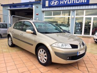 UK Specialist Cars have a very low KMH Renault Megane AUTOMATIC for sale in costa blanca spain