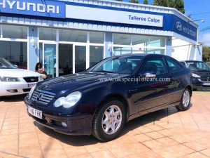 LHD MERCEDES-BENZ C200 KOMPRESSOR – LHD IN SPAIN