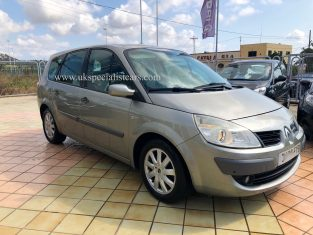 LHD Renault Scenic – 7 SEATER – DIESEL – LOW KMS – LHD In Spain