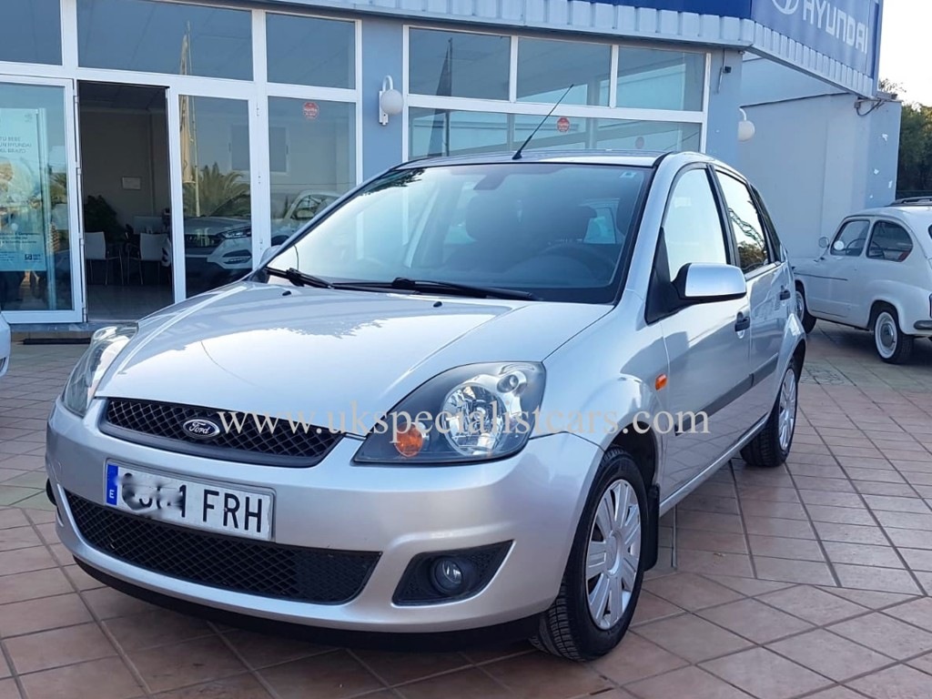lhd ford fiesta 1 4 tdci zetec low kms lhd in spain. Black Bedroom Furniture Sets. Home Design Ideas